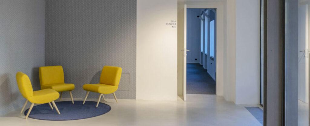 arredare ufficio moderno spazio di lavoro