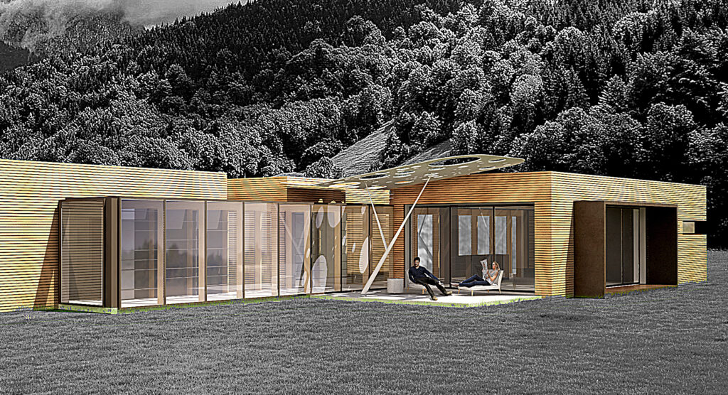 progettazione ville moderne architetti Ivrea provincia Torino